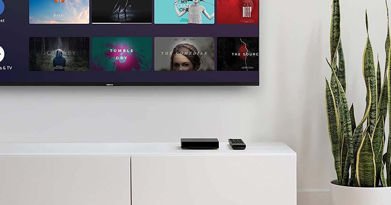 Uso del reproductor Nokia TV Box