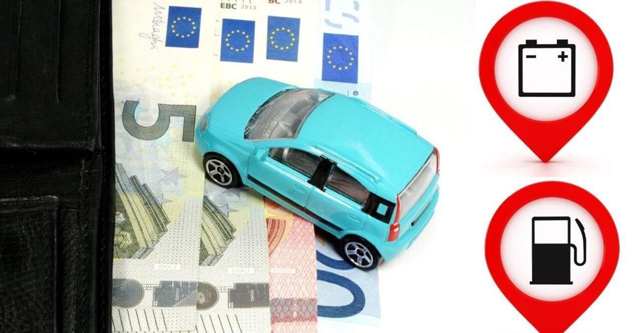 Ahorro costes coche eléctrico OCU