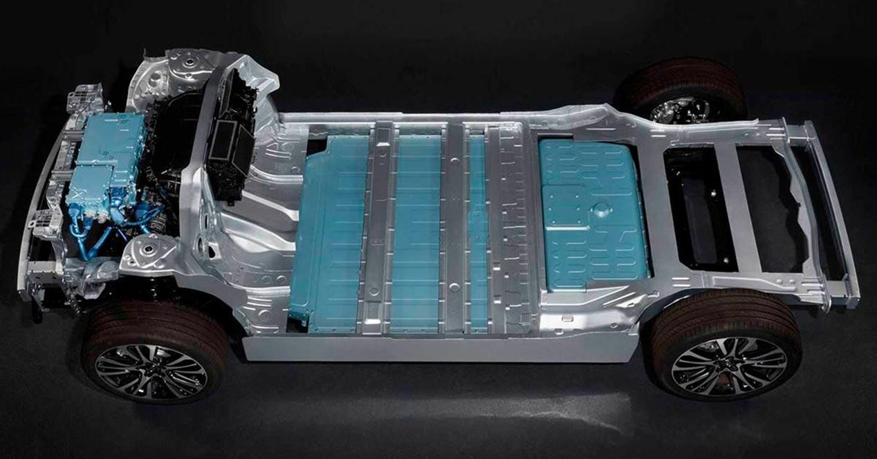 Baterías estructurales eléctricos aumento energía