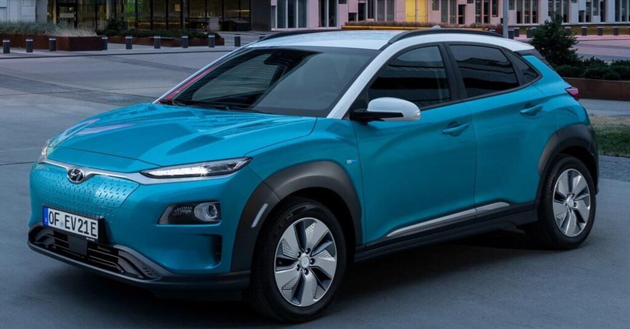 Hyundai Kona SUV eléctrico 2019 ficha técnica