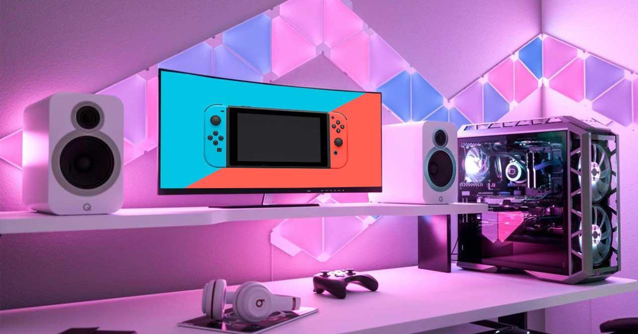 nintendo switch juegos pc