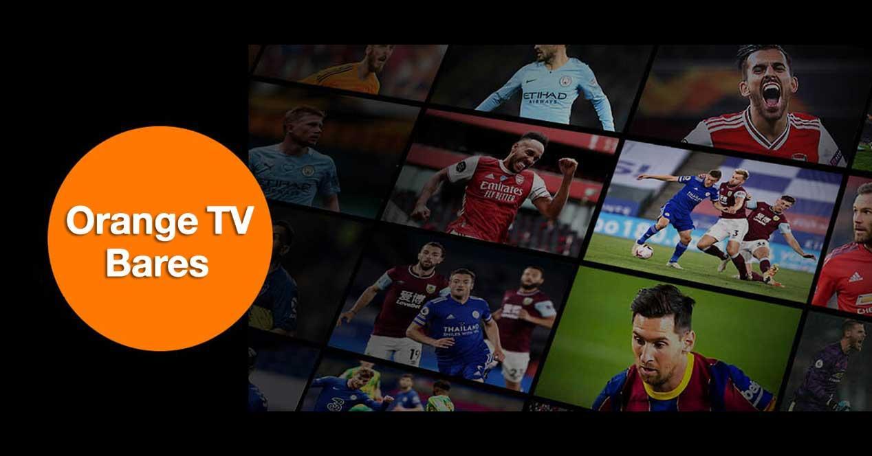 orange tv bares