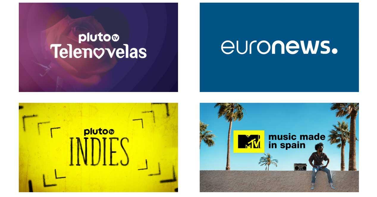 pluto tv nuevos canales gratis agosto 2021