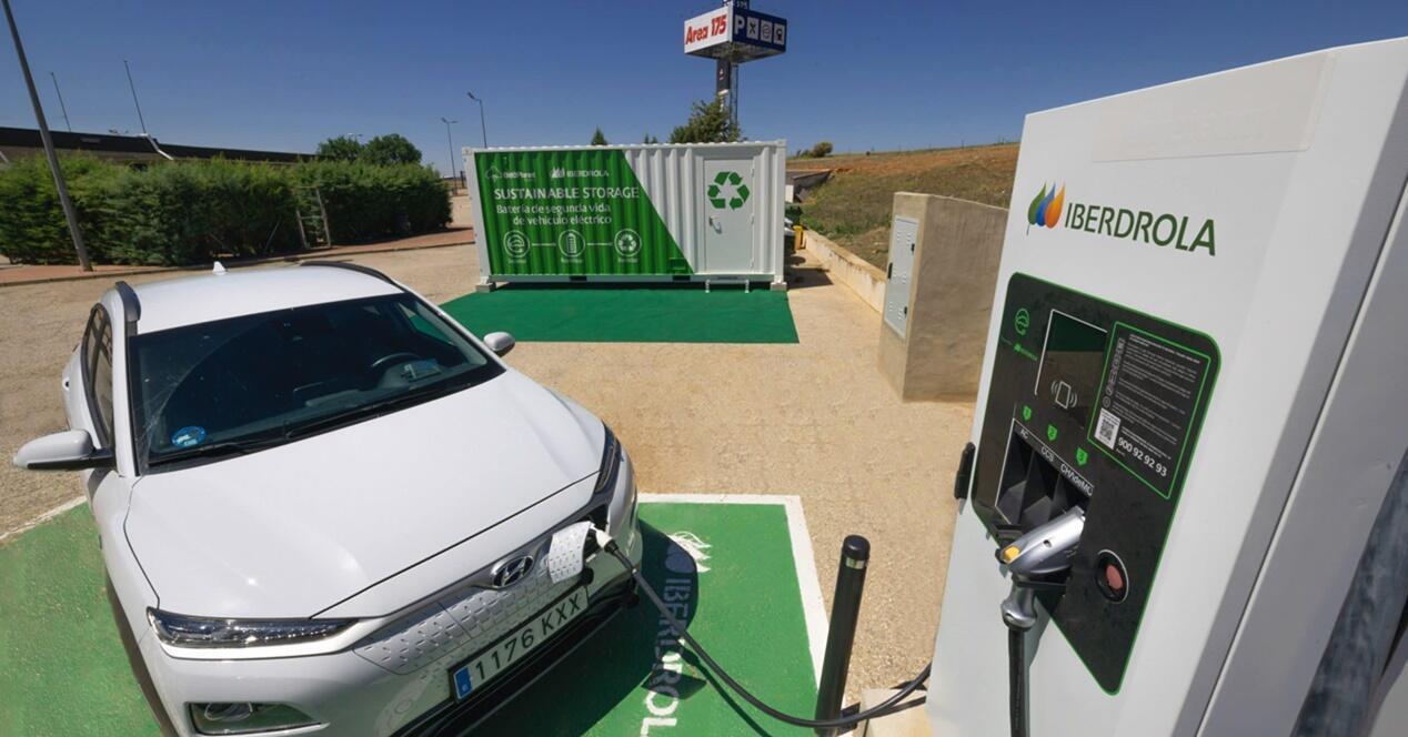 Recarga baterías recicladas vehículos eléctricos Iberdrola