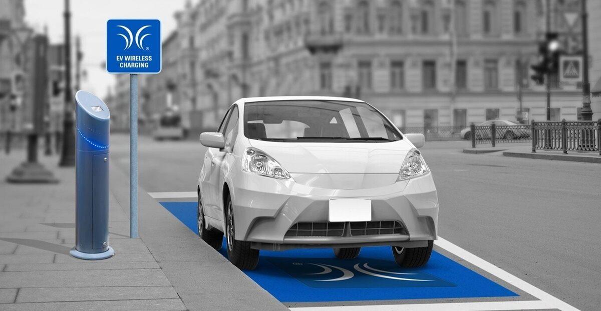 Recarga inalámbrica coches eléctricos español Premo