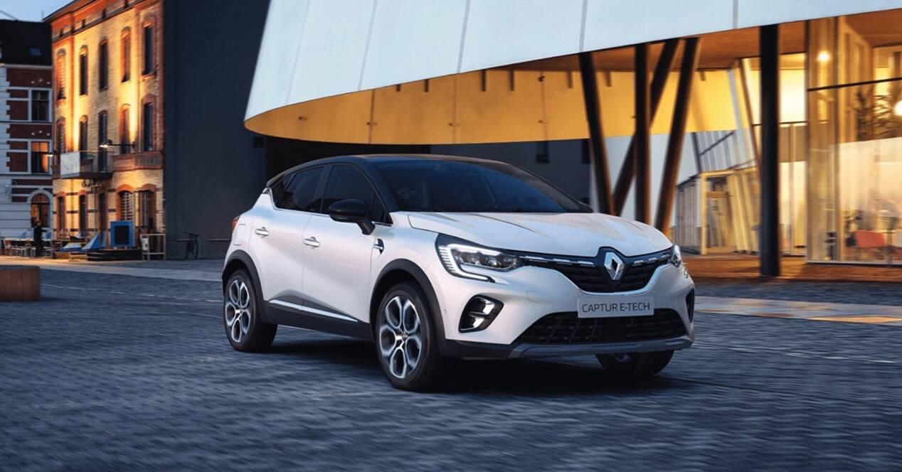 Renault Captur e-Tech 2020 SUV híbrido enchufable
