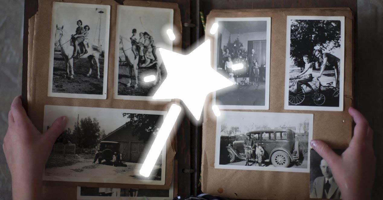 reparar fotos dañadas
