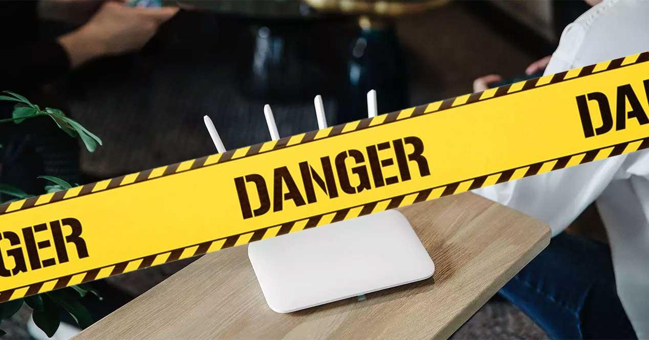 router peligro