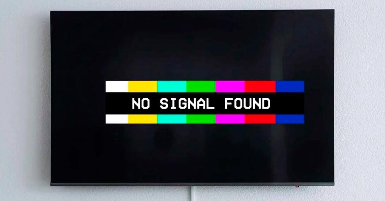 sin señal tdt