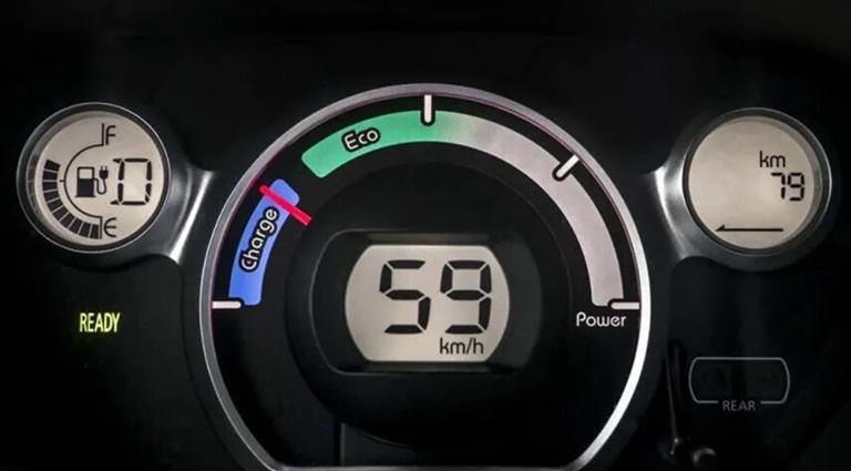 Sistema uso cambio marchas coche eléctrico