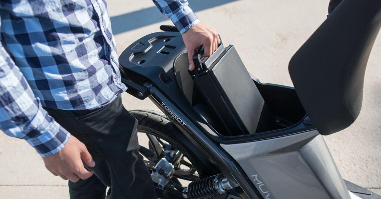 Tipos baterías moto eléctrica