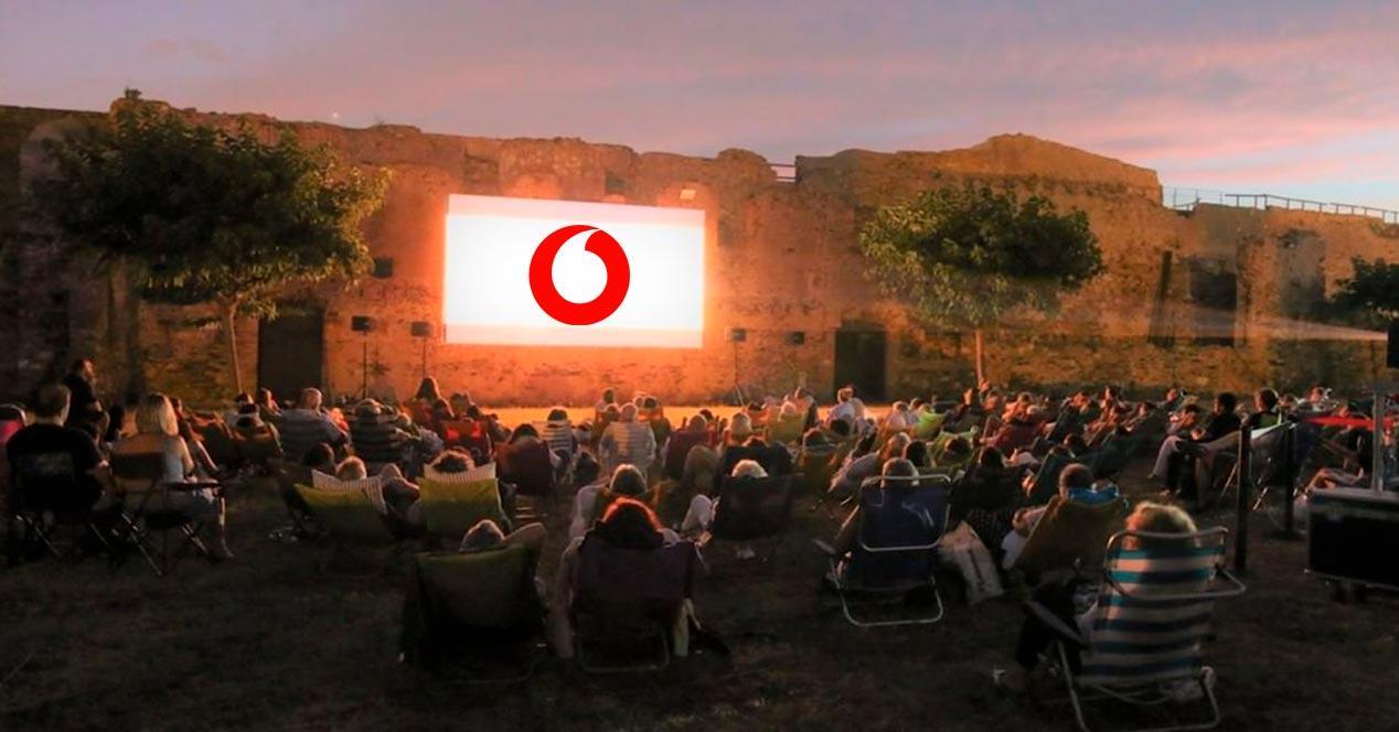 vodafone cine verano
