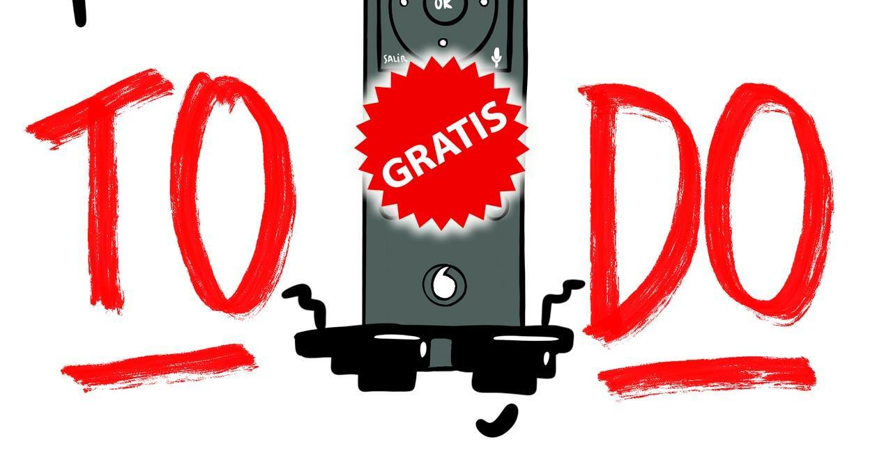 vodafone mando gratis