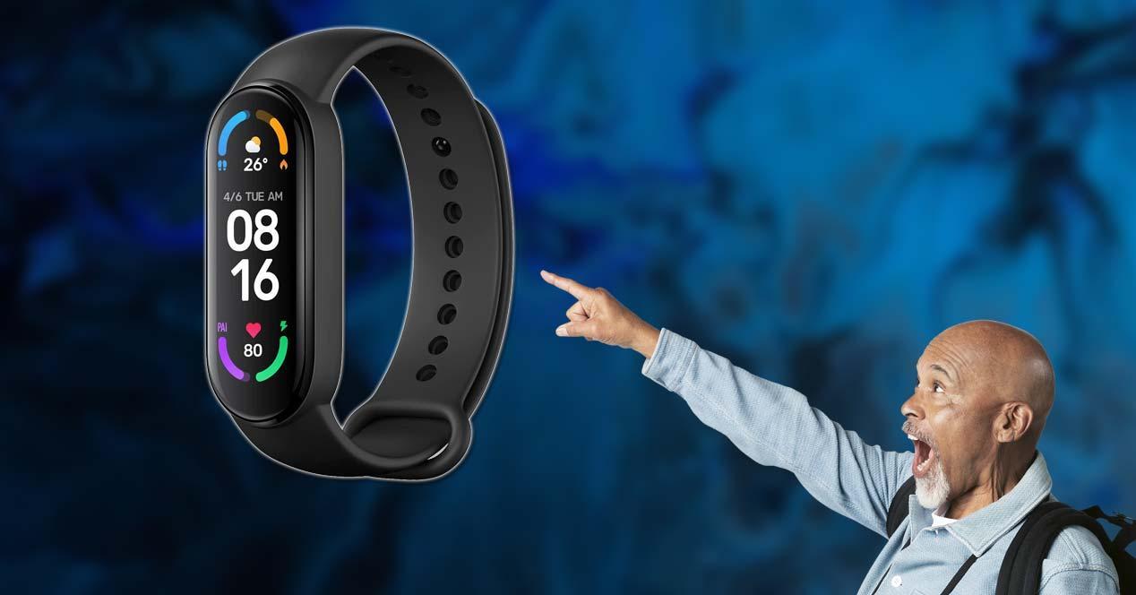 Oferta por la Xiaomi Smart Band 6