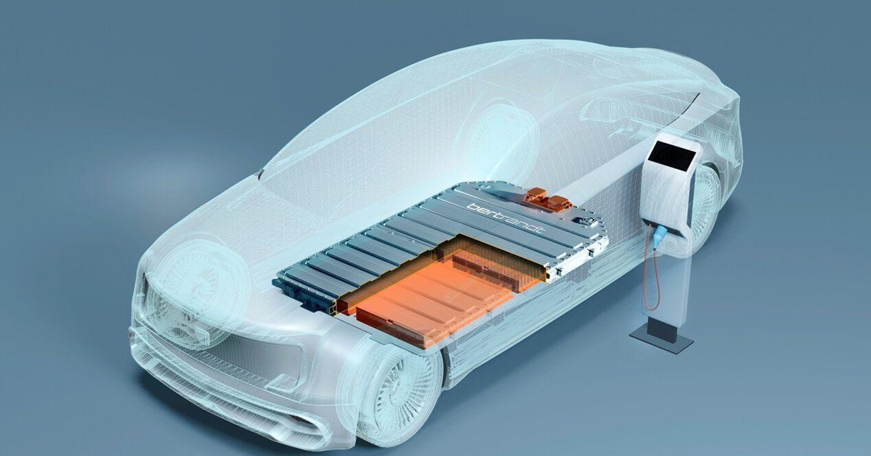 Batería acero eléctricos Betrand