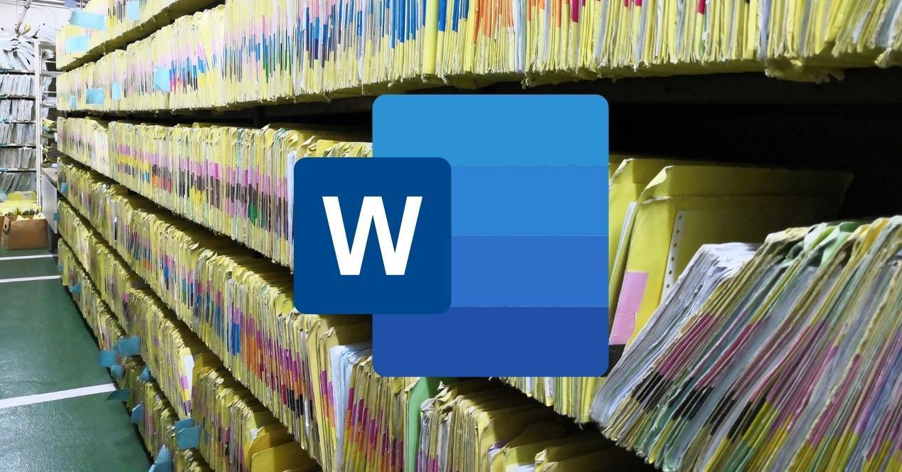 borrar archivos recientes de word