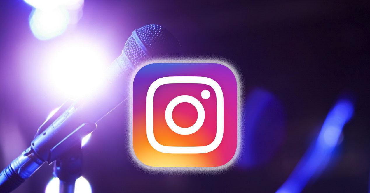 buscar audios y música en instagram