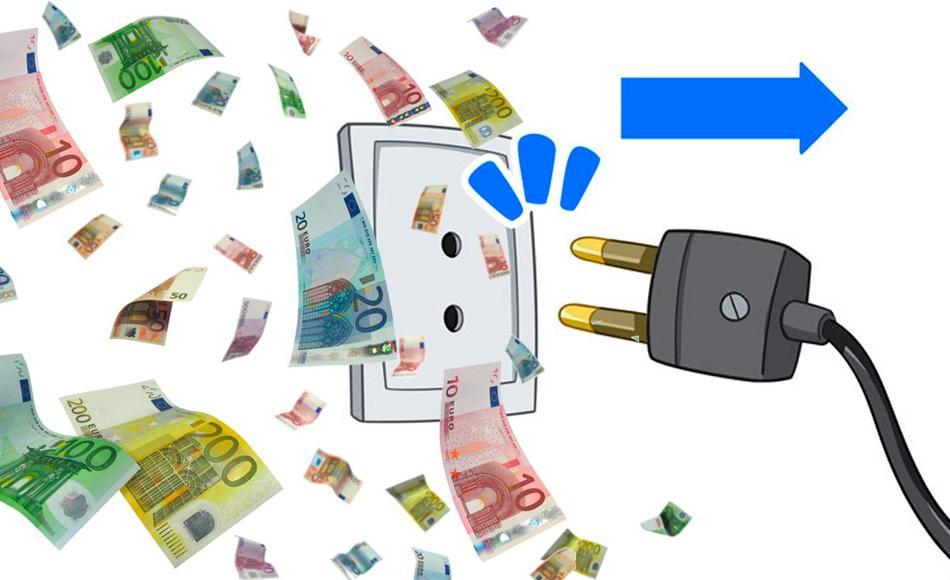 dinero desenchufar