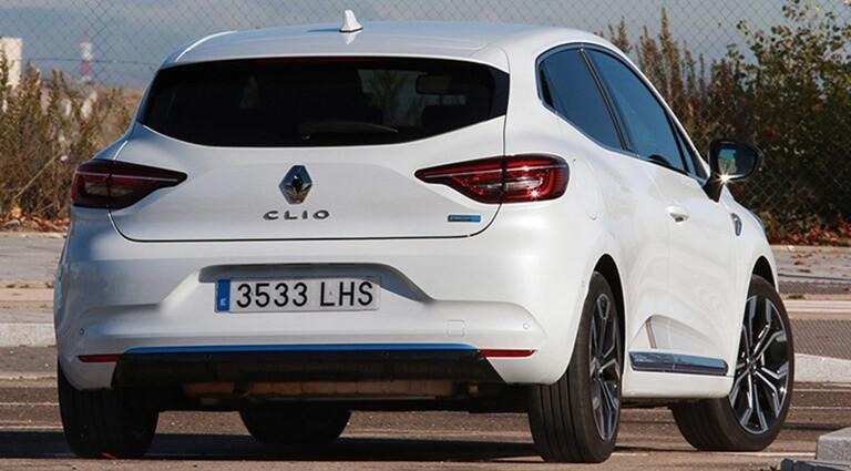 Exterior Renault Clio E-Tech