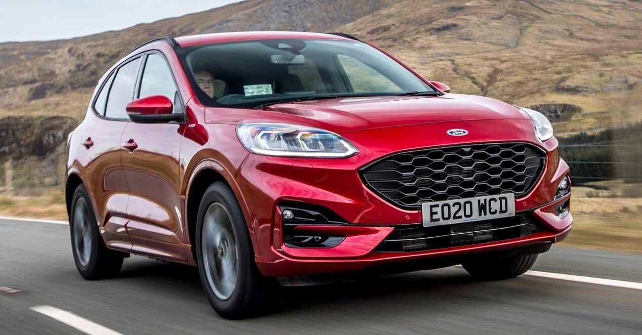 Ford Kuga PHEV 2020 ficha técnica