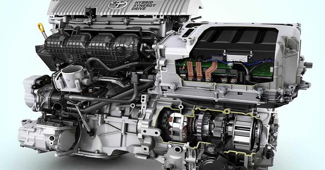 Cómo funciona un motor híbrido