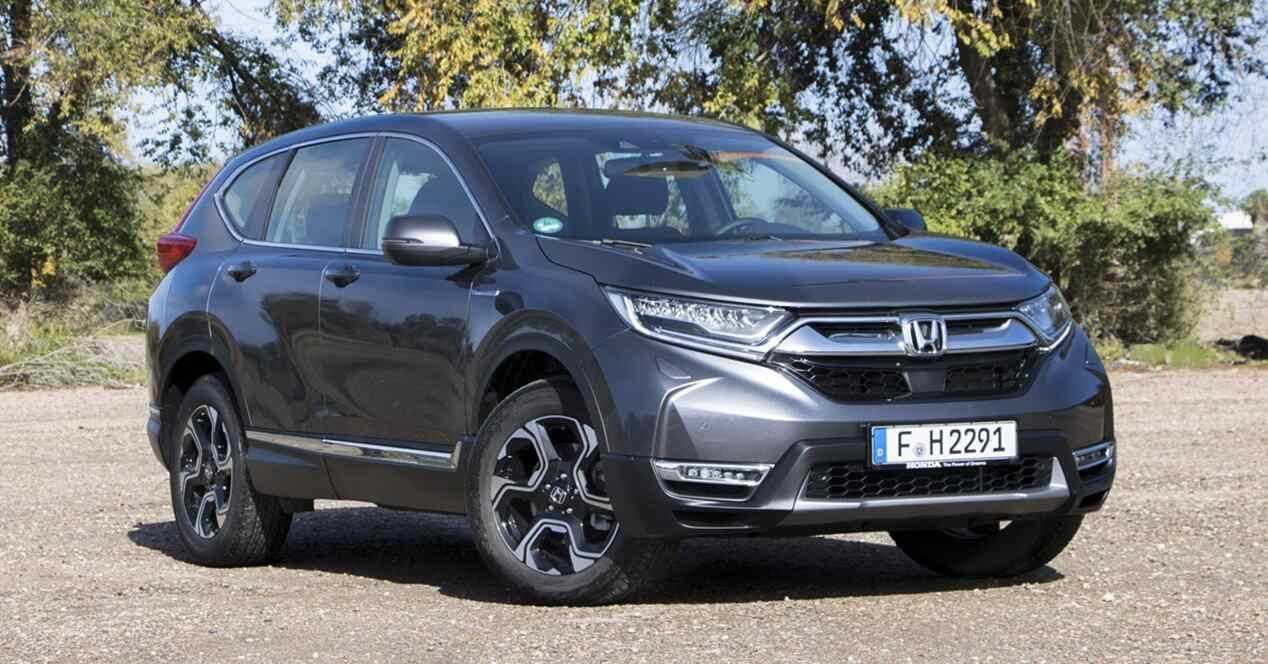 Honda CR-V híbrido 2019 ficha técnica