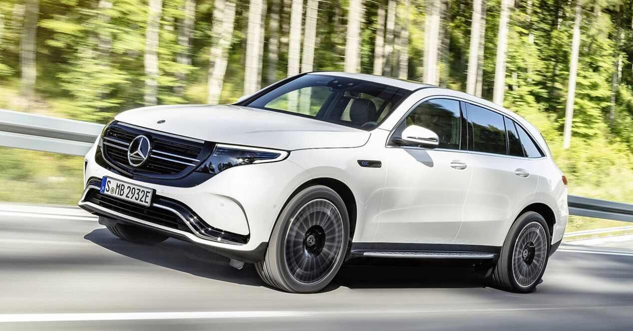 Mercedes EQC eléctrico 2019 ficha técnica
