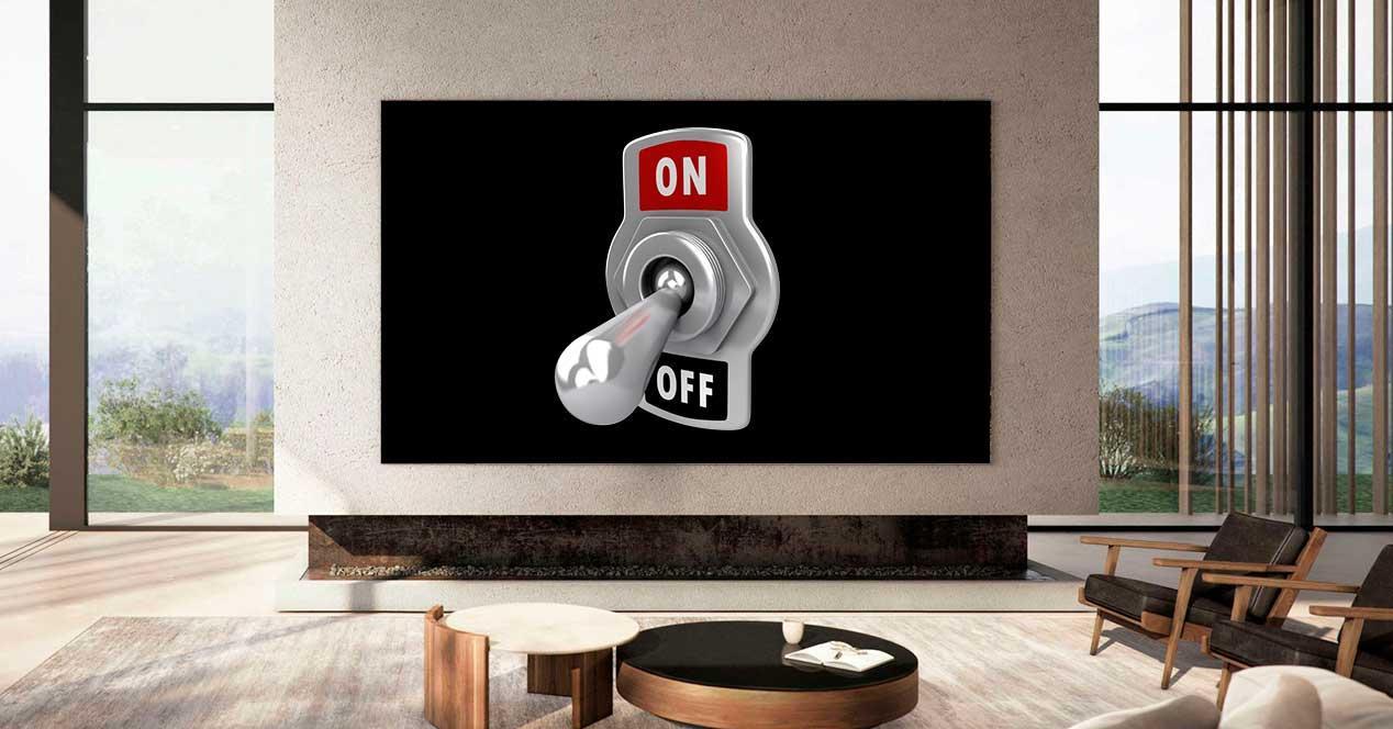 samsung tv block interruptor