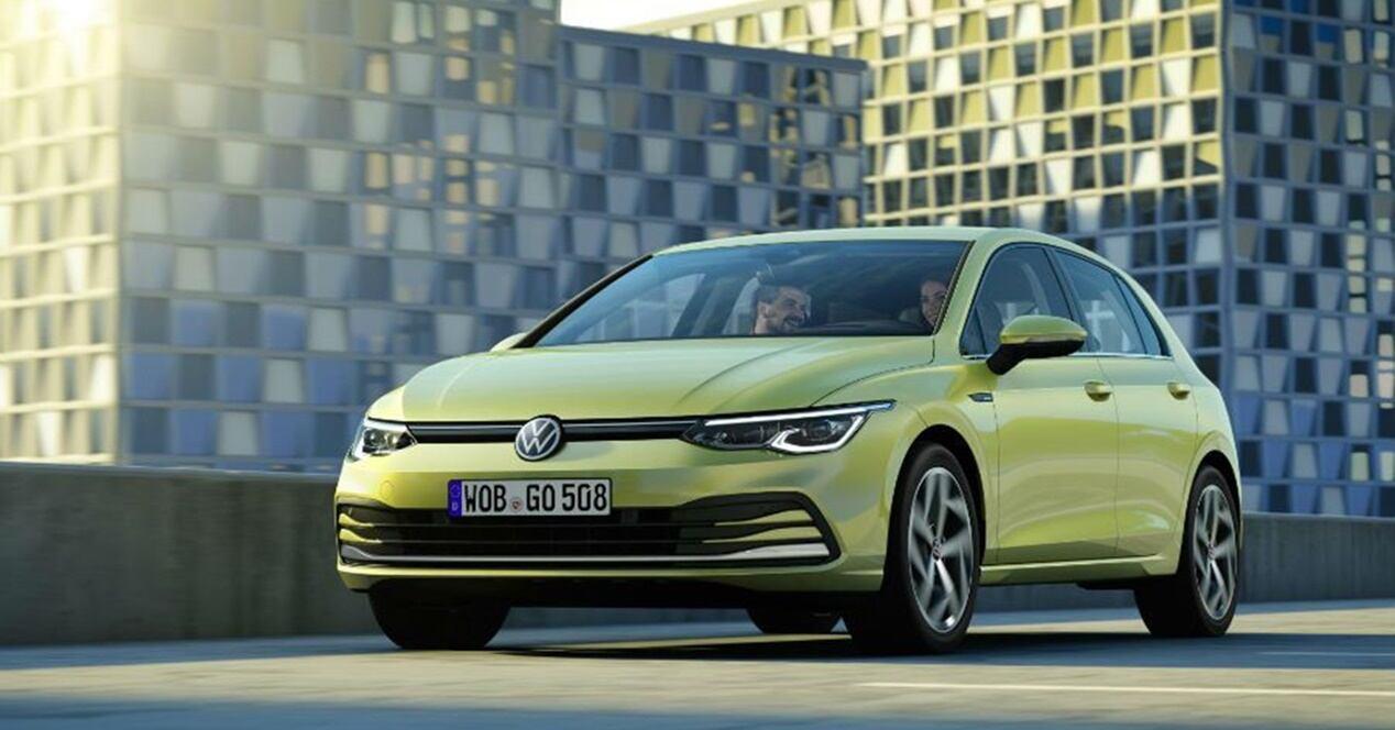 Volkswagen Golf 8 híbrido ficha técnica