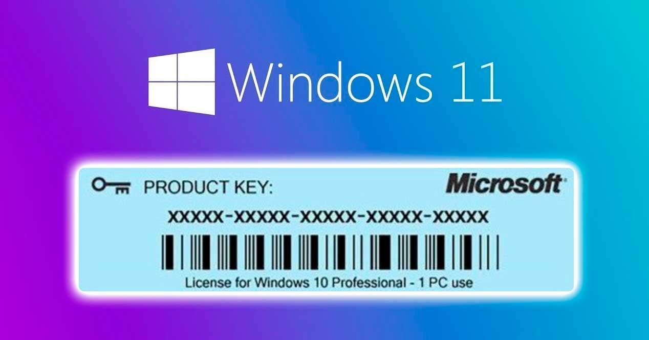 windows 11 clave