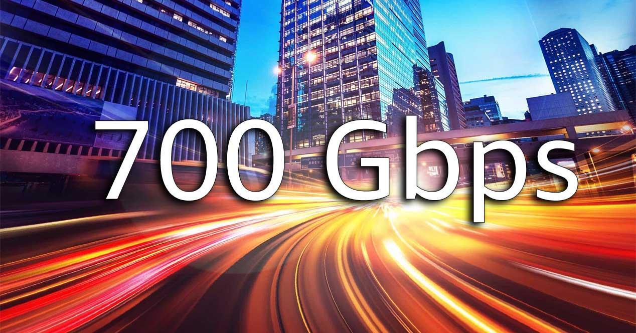700 gbps velocidad record madrid