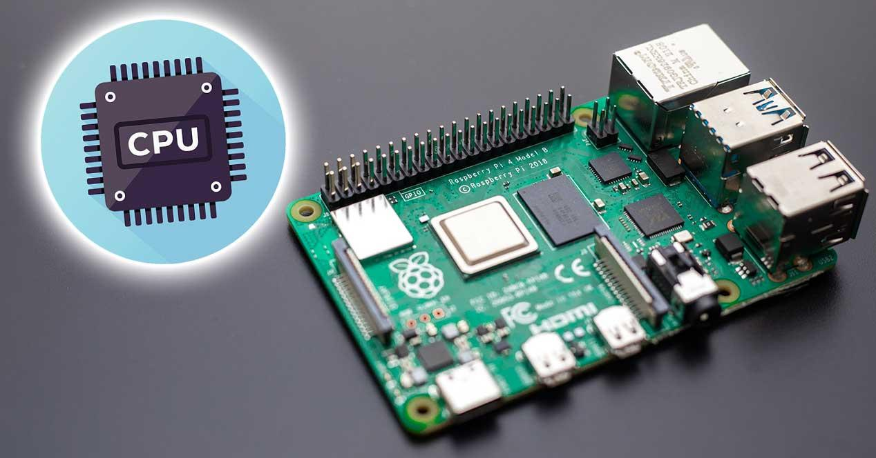 Raspberry pi 4 nueva cpu rendimiento