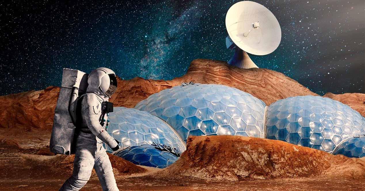 Naves espaciales para viajar a Marte