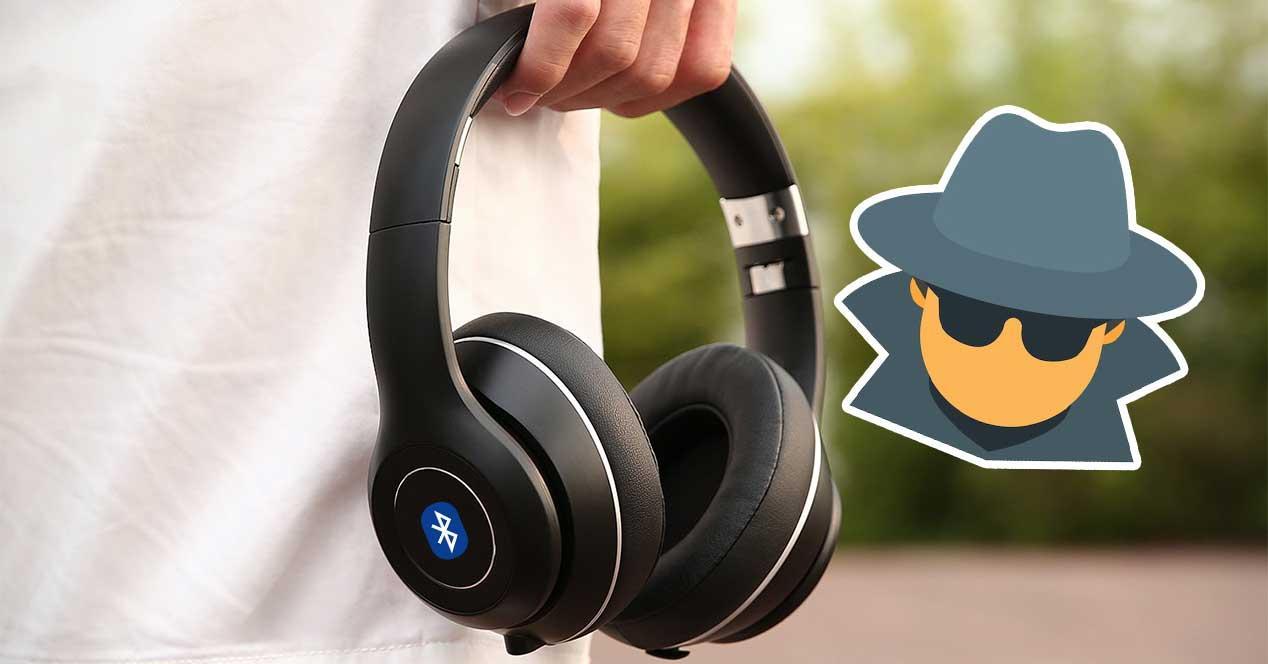 auriculares bluetooth espiar