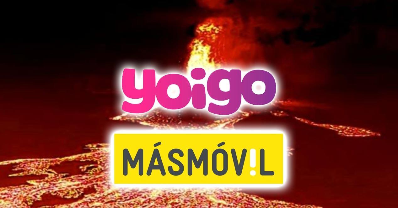 MásMóvil y Yoigo ayudarán a La Palma