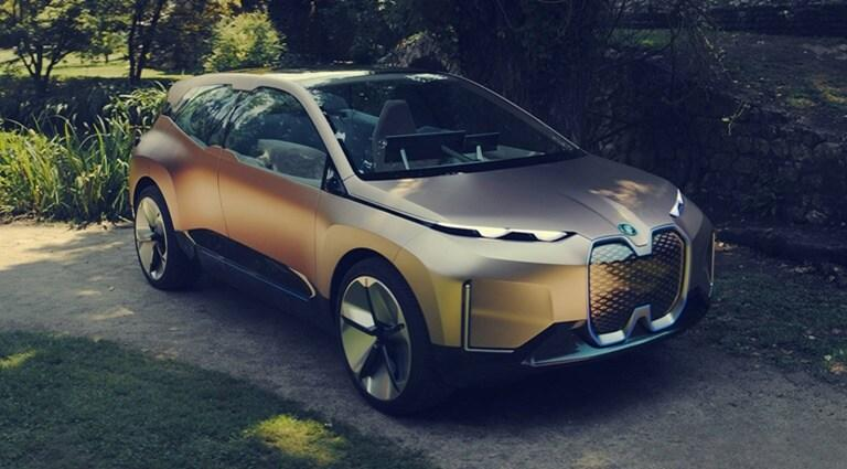 BMW i Vision coches eléctricos reciclados