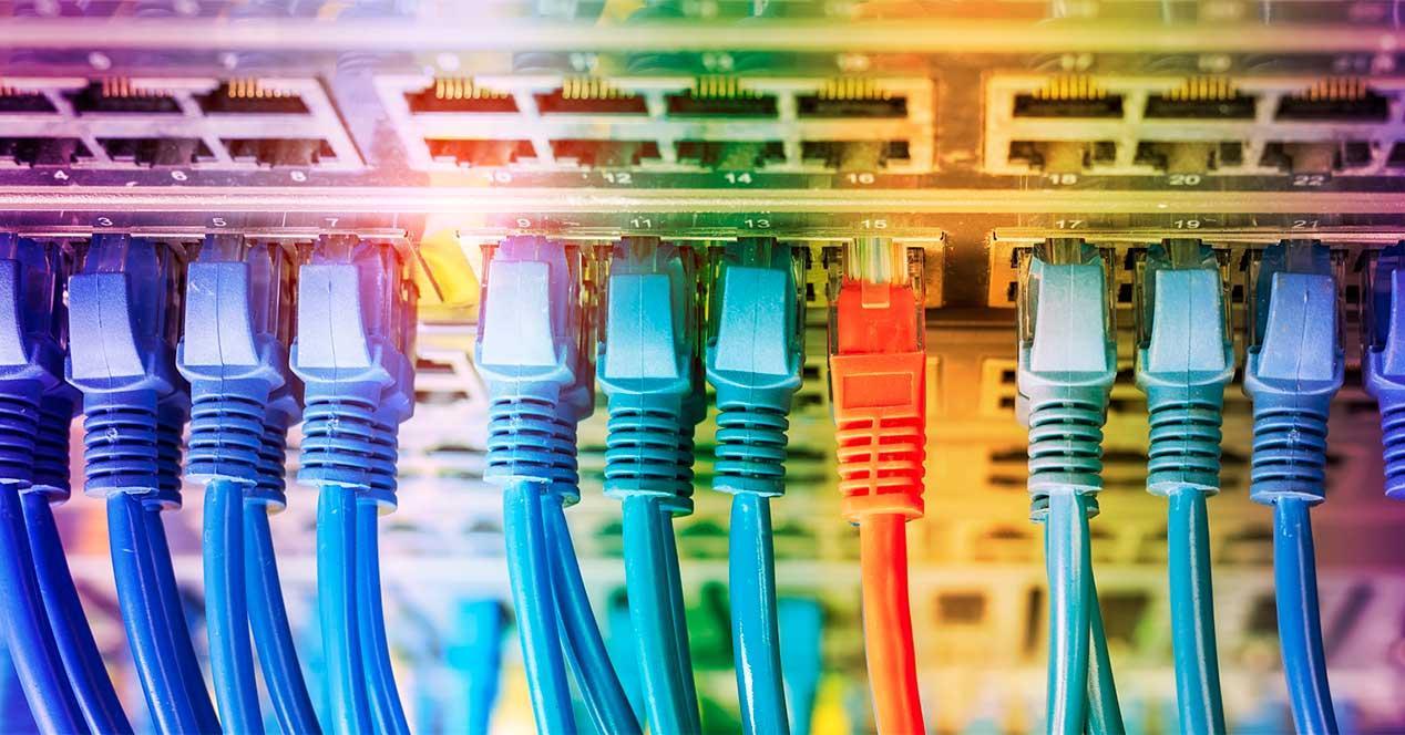 cables ethernet direcciones ip