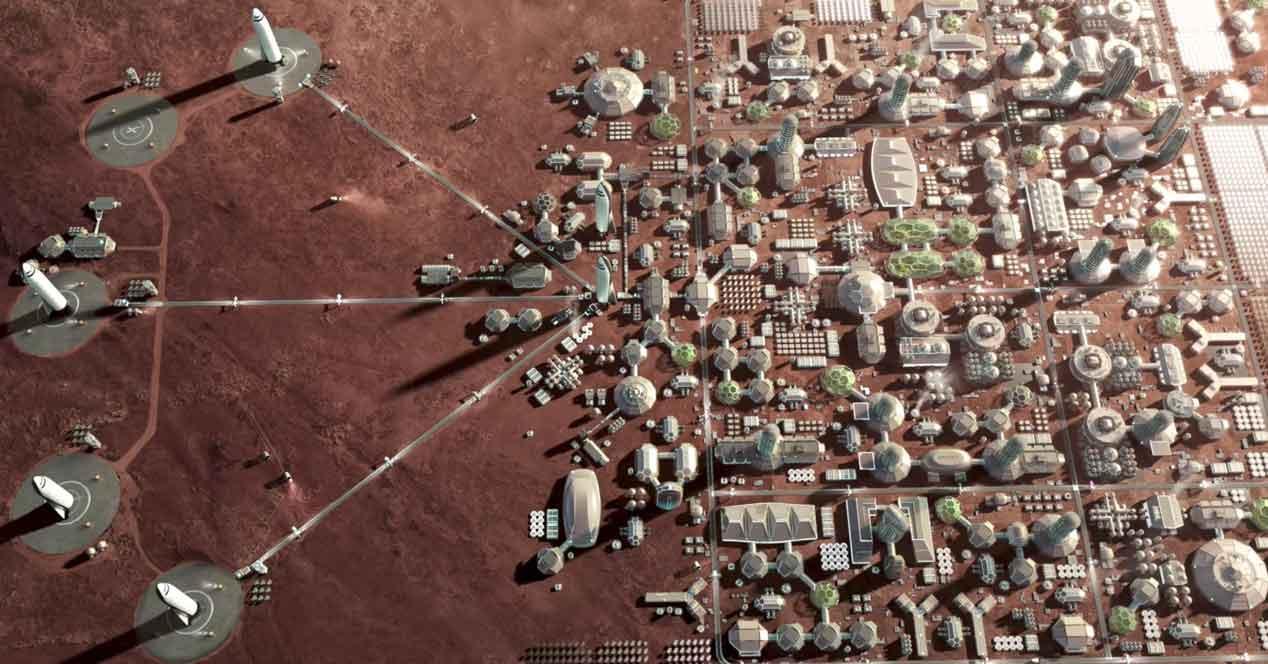 Últimos diseños de casas en Marte