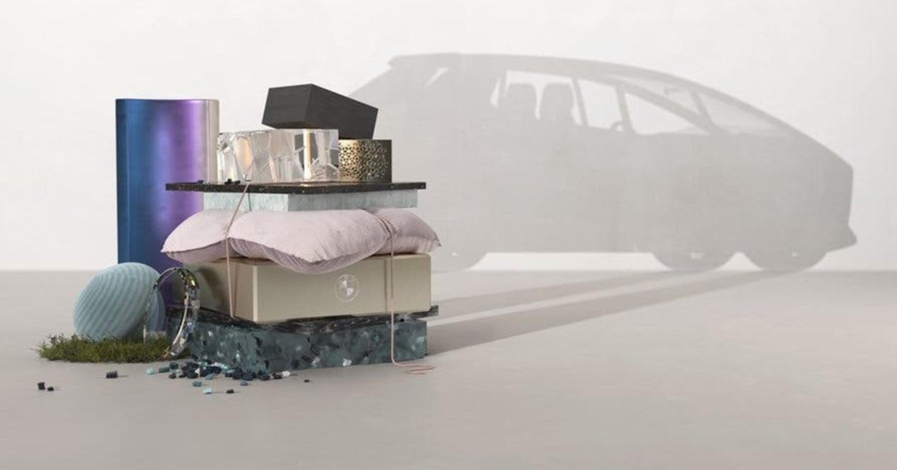 Coches eléctricos 100% reciclados BMW