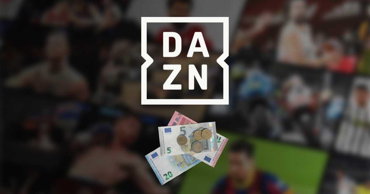 dazn euros precio