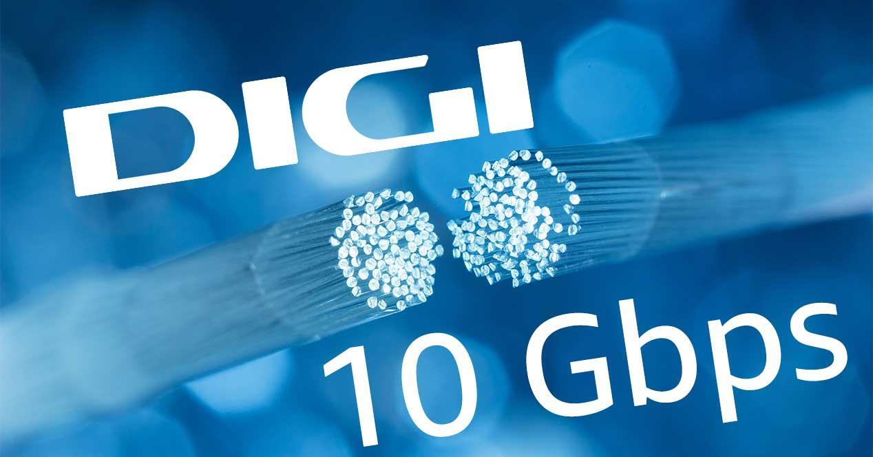 digi 10 gbps fibra