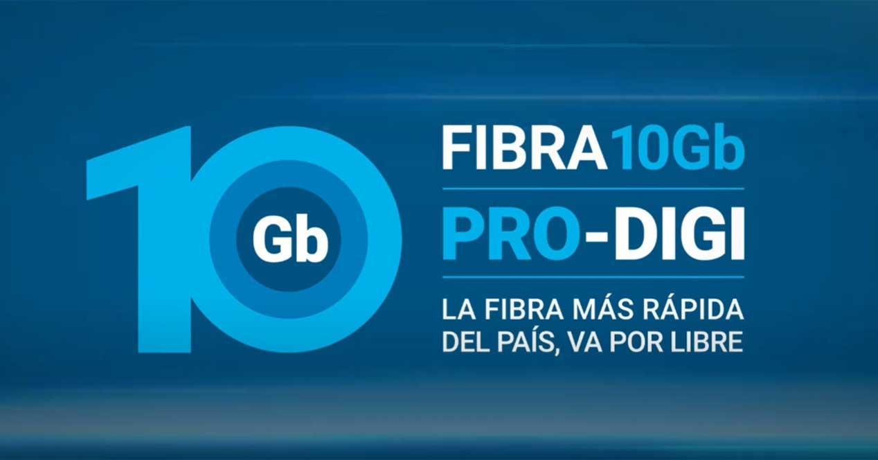 digi 10 gbps pro-digi tarifa