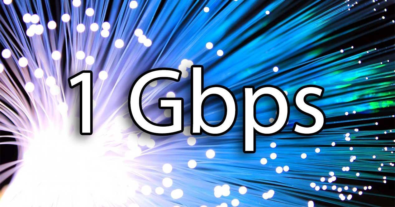 fibra de 1 gbps
