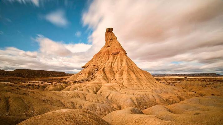 foto de paisaje Bárdenas Reales