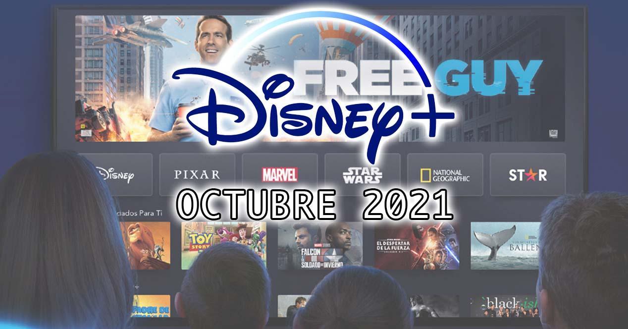 Estrenos Disney+ en octubre de 2021