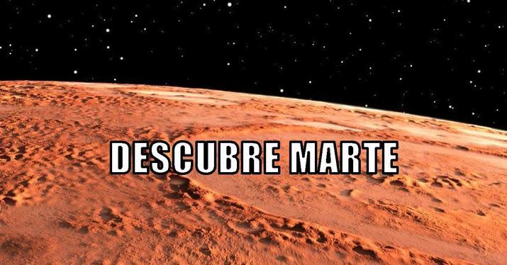 ¿Qué paisajes hay en Marte? Descúbrelo con estas fotos