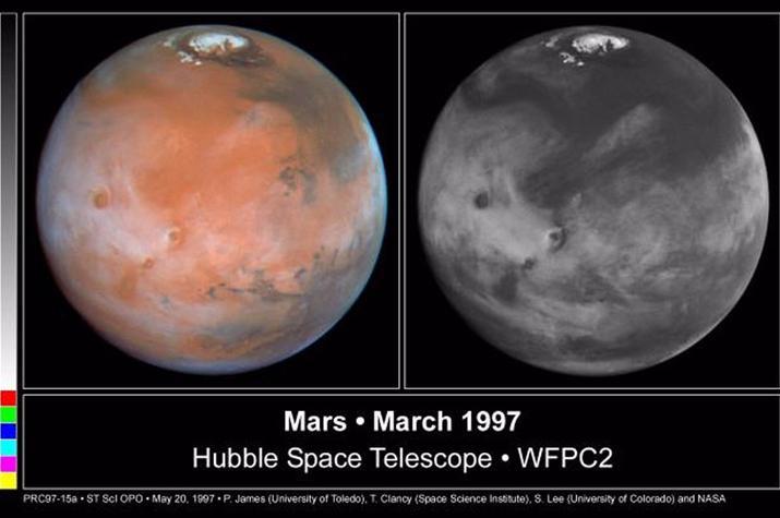 foto tomada por el telescopio hubble