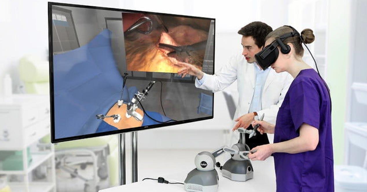 usos de la realidad virtual en la medicina