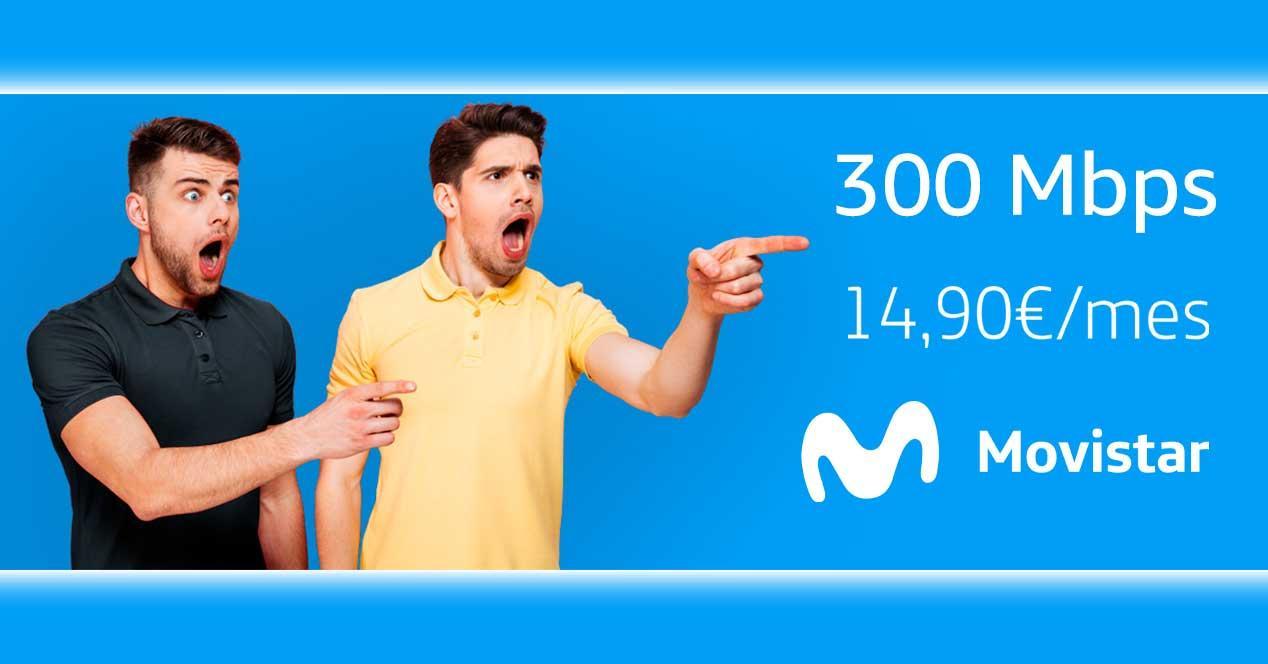 movistar 300 mbps conecta oferta septiembre 2021