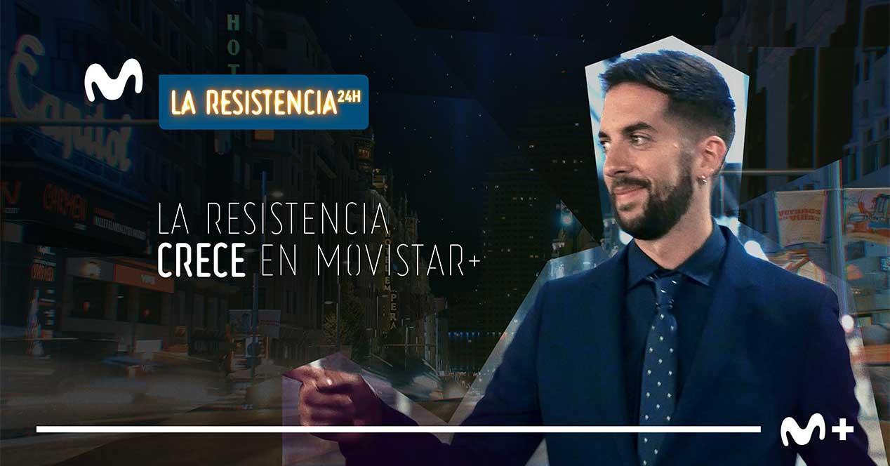 movistar la resistencia 24h